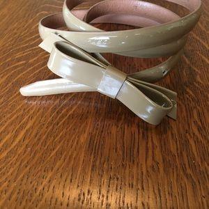 J CREW skinny belt